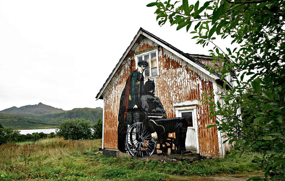 Pobel 10 Уличный художник Pøbel из Норвегии