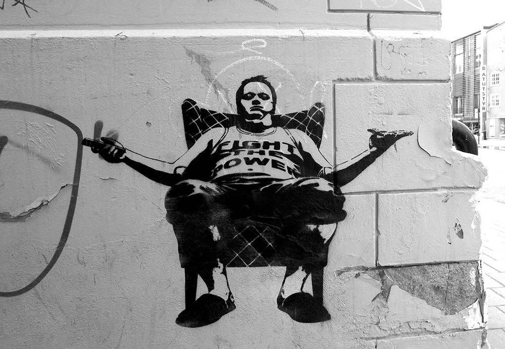 Pobel 16 Уличный художник Pøbel из Норвегии