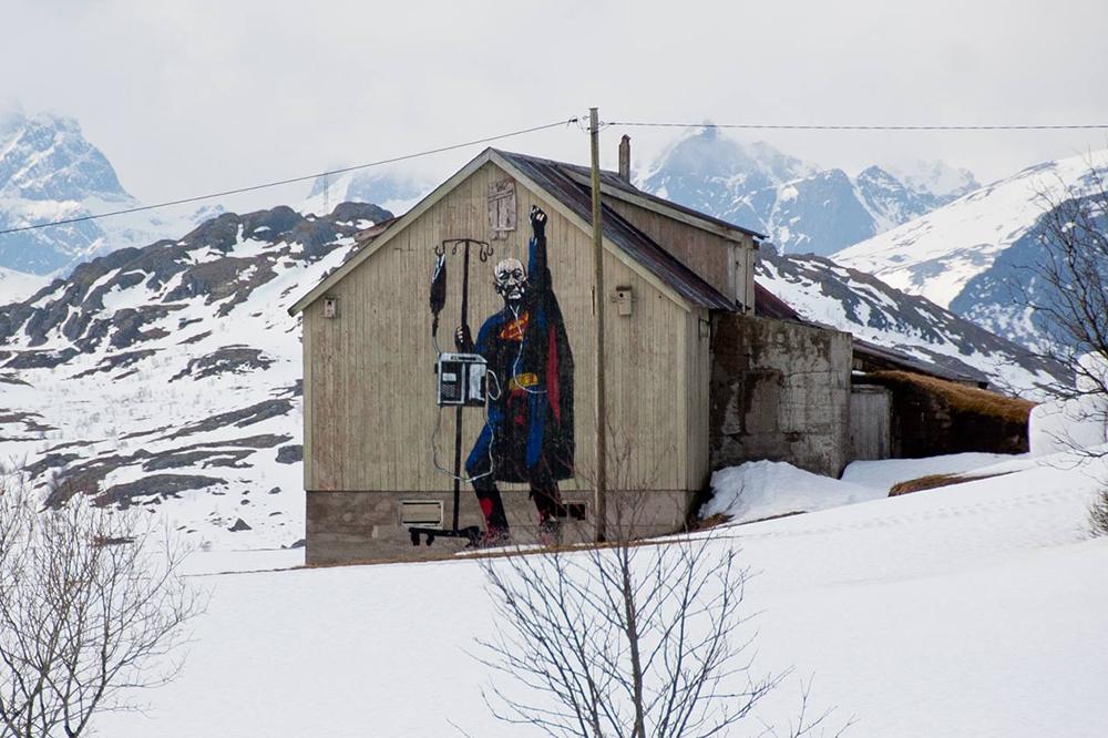 Pobel 2 Уличный художник Pøbel из Норвегии