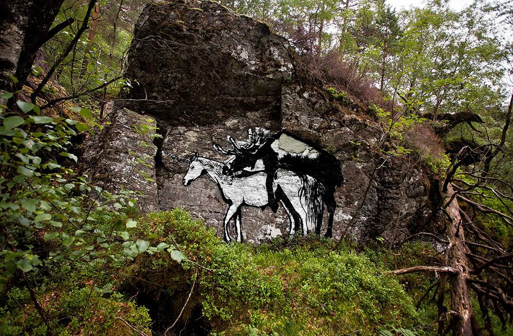 Pobel 5 Уличный художник Pøbel из Норвегии