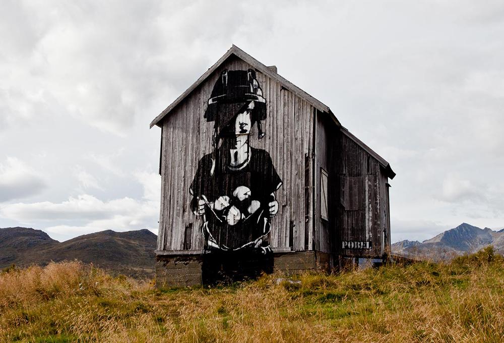 Pobel 8 Уличный художник Pøbel из Норвегии