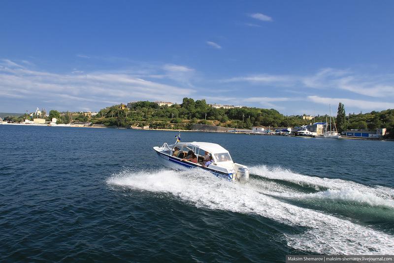 Sevastopol 15 Путевые заметки: по морю вдоль Севастополя