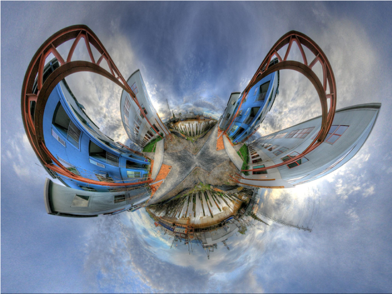 Shockingly Surreal Warped Out Worlds 8 Миры, вывернутые наизнанку