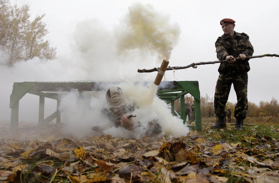 Smoked and battered 5 Квалификационные испытания краповых беретов