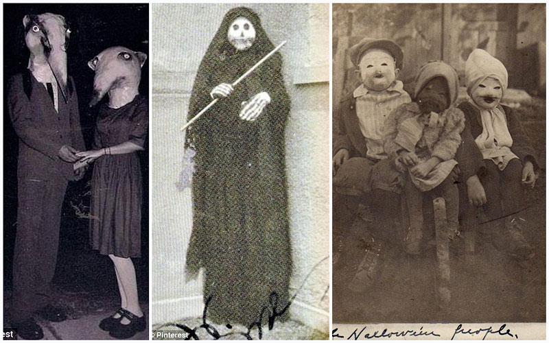 TEMP14 Ретро костюмы на Хэллоуин