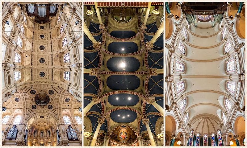 Головокружительные панорамы нью-йоркских церквей
