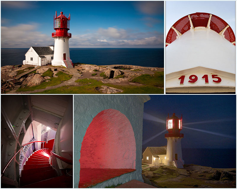 TEMP6 Живописные пейзажи Норвегии   Маяк Линдеснес