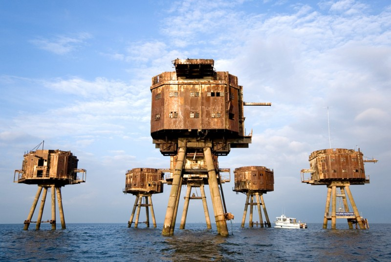 The Maunsell Sea Forts 1 800x537 Морские форты Манселла