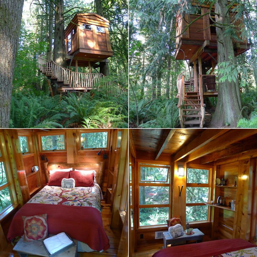Tree Houses For Adults 10 Недетские дома на деревьях