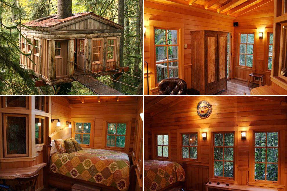 Tree Houses For Adults 11 Недетские дома на деревьях