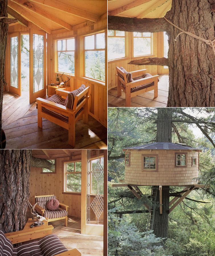 Tree Houses For Adults 12 Недетские дома на деревьях
