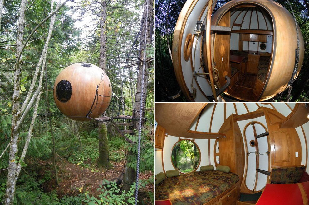 Tree Houses For Adults 13 Недетские дома на деревьях