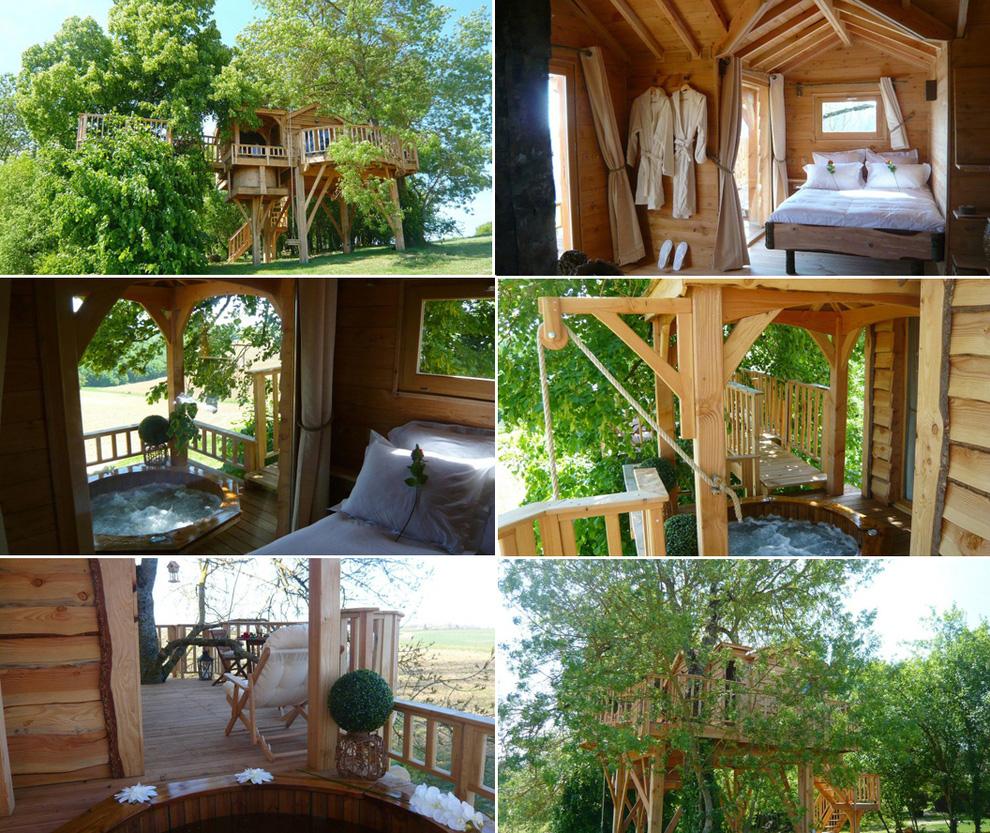 Tree Houses For Adults 14 Недетские дома на деревьях