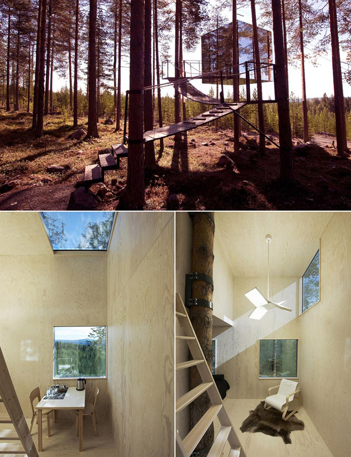 Tree Houses For Adults 16 Недетские дома на деревьях