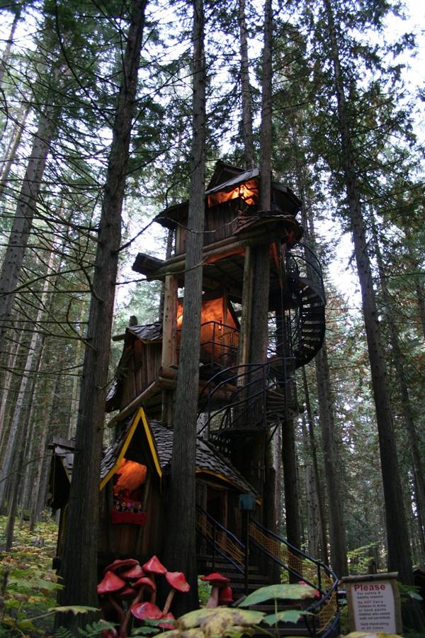 Tree Houses For Adults 2 Недетские дома на деревьях
