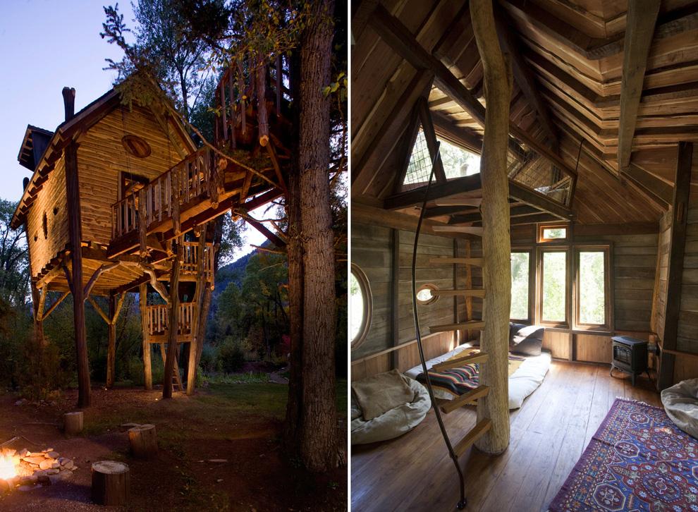Tree Houses For Adults 6 Недетские дома на деревьях