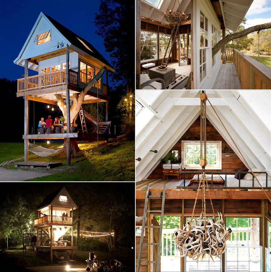 Tree Houses For Adults 7 Недетские дома на деревьях