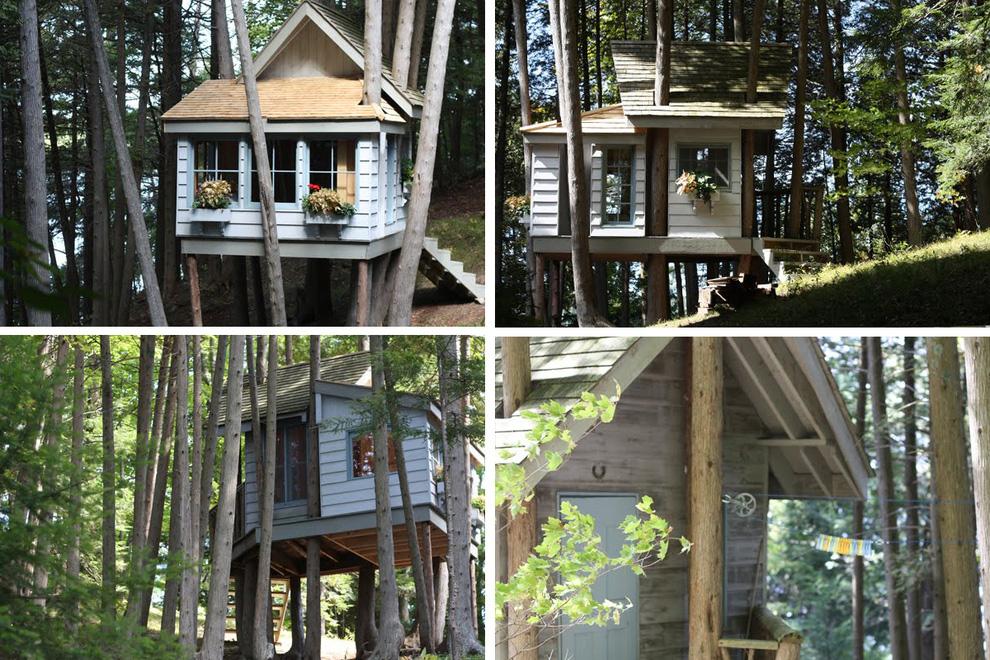 Tree Houses For Adults 9 Недетские дома на деревьях