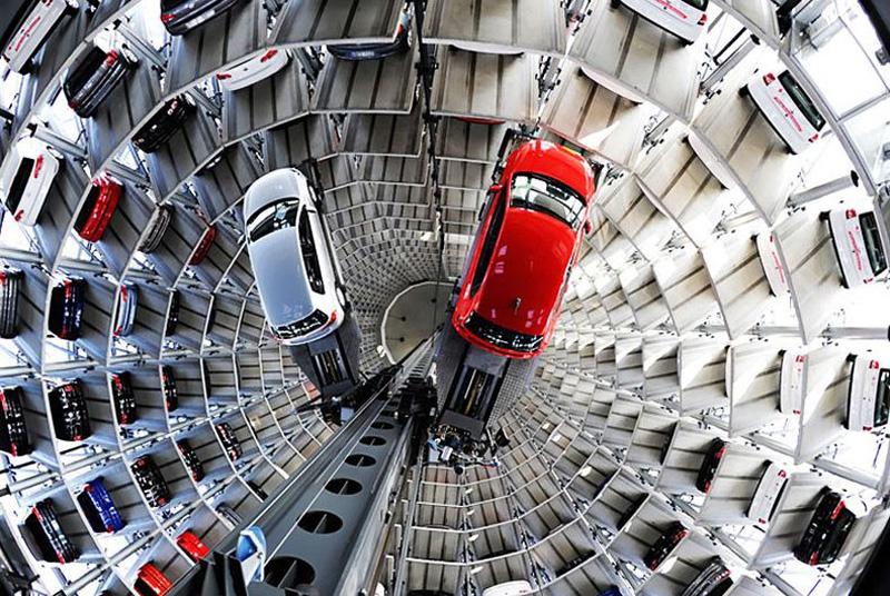 Автомобильные башни в Германии