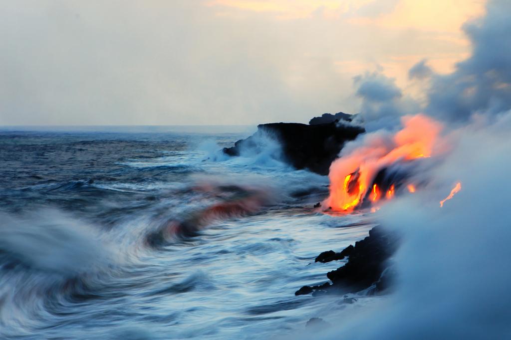 When Lava Meets Water 2 Когда лава встречается с водой