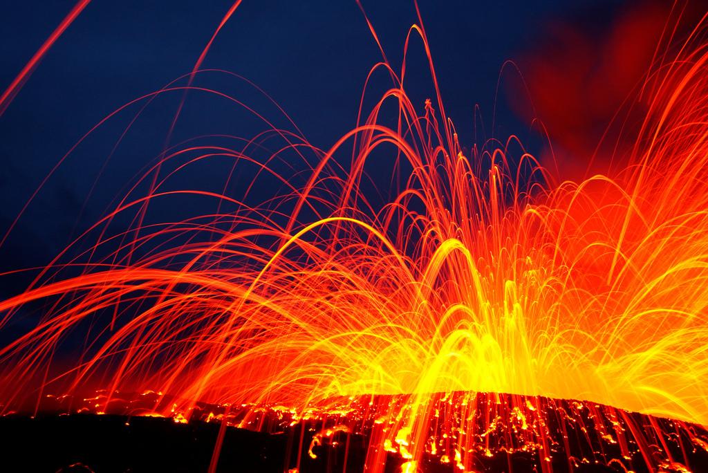 When Lava Meets Water 7 Когда лава встречается с водой