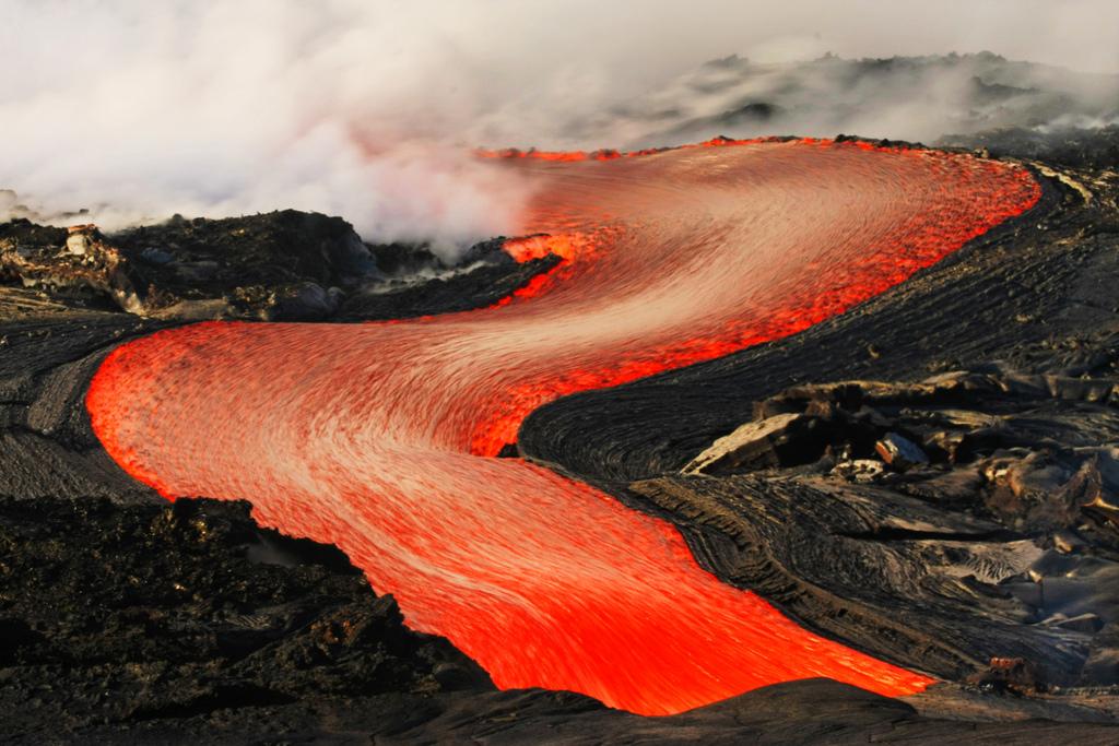 When Lava Meets Water 8 Когда лава встречается с водой