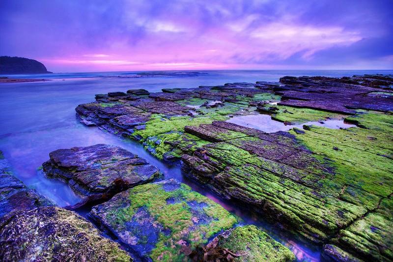 Живописный пляж Туриметта