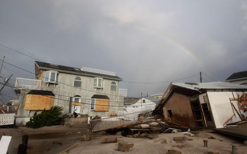 fireafter 14 fire after Hurricane Sandy