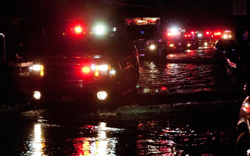 fireafter 9 fire after Hurricane Sandy
