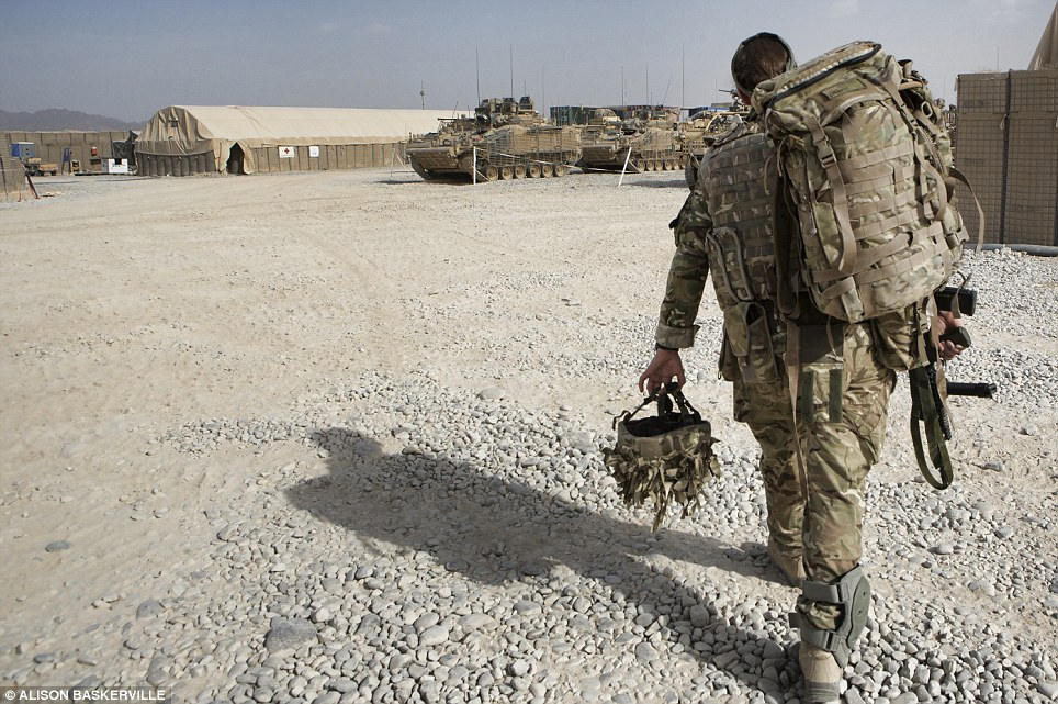 girls life in the Army 16 Будни британских женщин военнослужащих в Афганистане