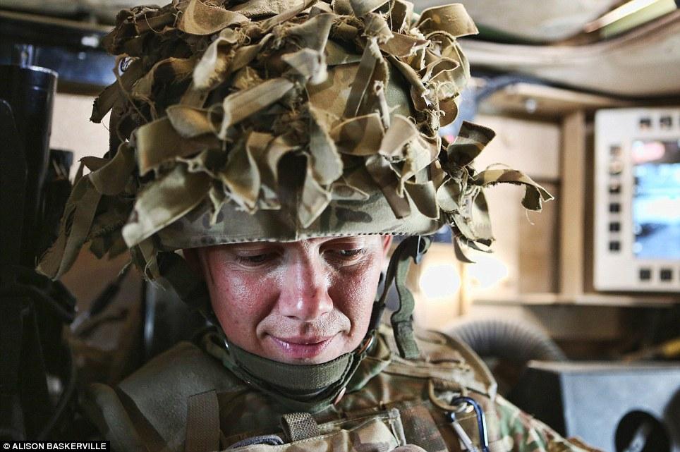 girls life in the Army 17 Будни британских женщин военнослужащих в Афганистане