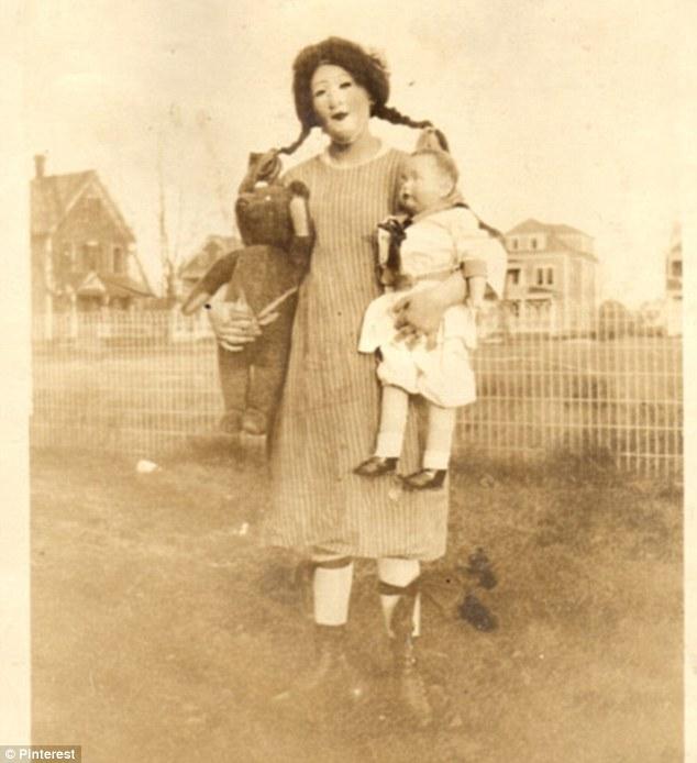 halloween 13 Ретро костюмы на Хэллоуин