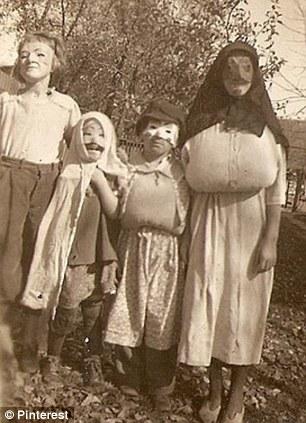 halloween 14 Ретро костюмы на Хэллоуин