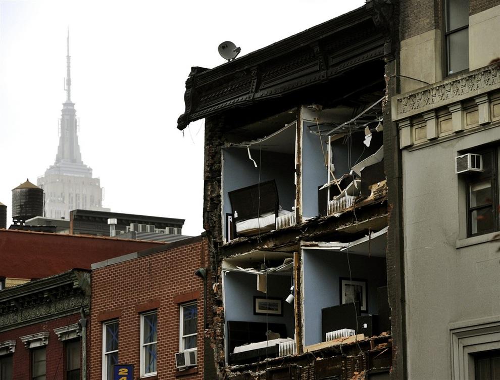 haosafter 14 Разруха и хаос после урагана Сэнди