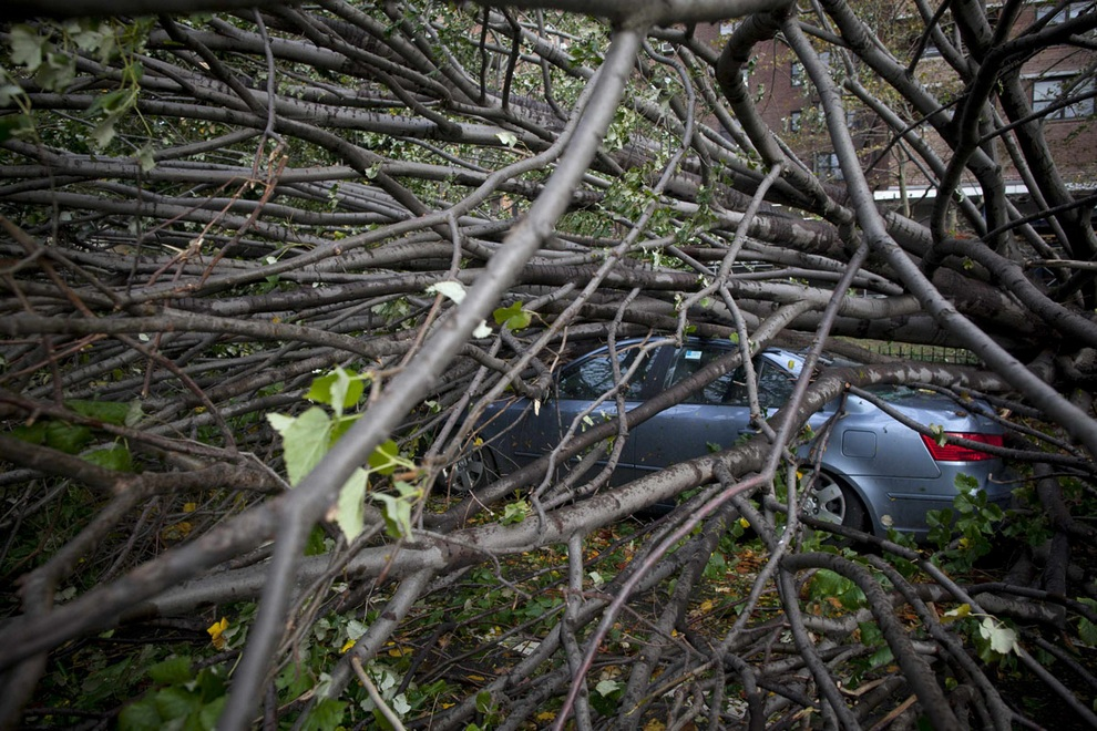 haosafter 16 Разруха и хаос после урагана Сэнди