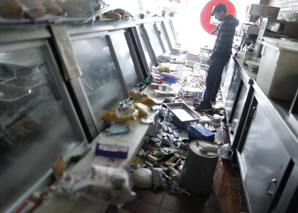 haosafter 21 Разруха и хаос после урагана Сэнди