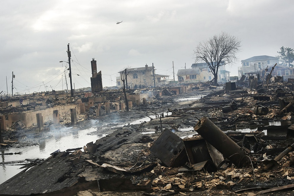 haosafter 23 Разруха и хаос после урагана Сэнди
