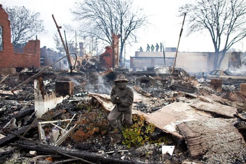 Разруха и хаос после урагана Сэнди