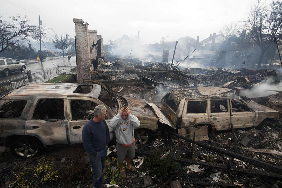 haosafter 25 Разруха и хаос после урагана Сэнди