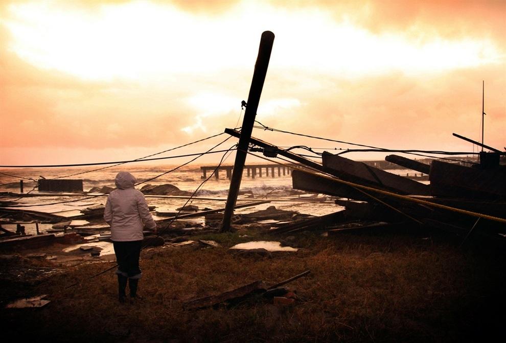 haosafter 30 Разруха и хаос после урагана Сэнди