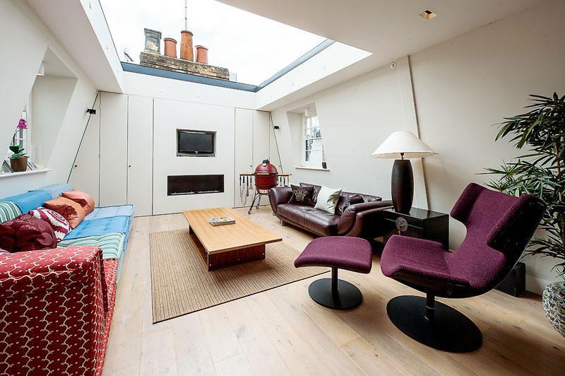 houseinLondon 10 Лондонский дом со стеклянной крышей