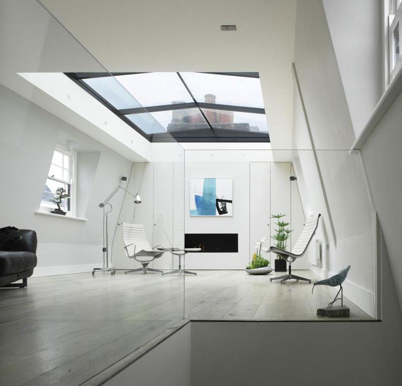 houseinLondon 2 Лондонский дом со стеклянной крышей