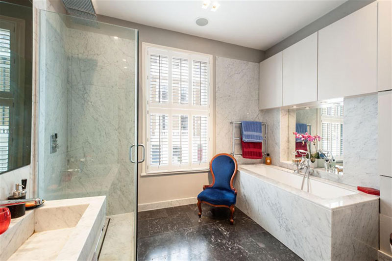houseinLondon 7 Лондонский дом со стеклянной крышей