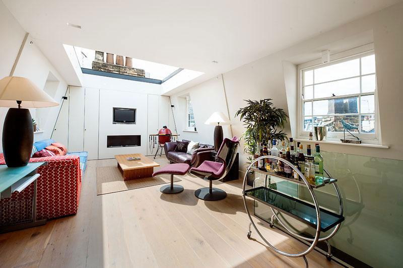 houseinLondon 9 Лондонский дом со стеклянной крышей