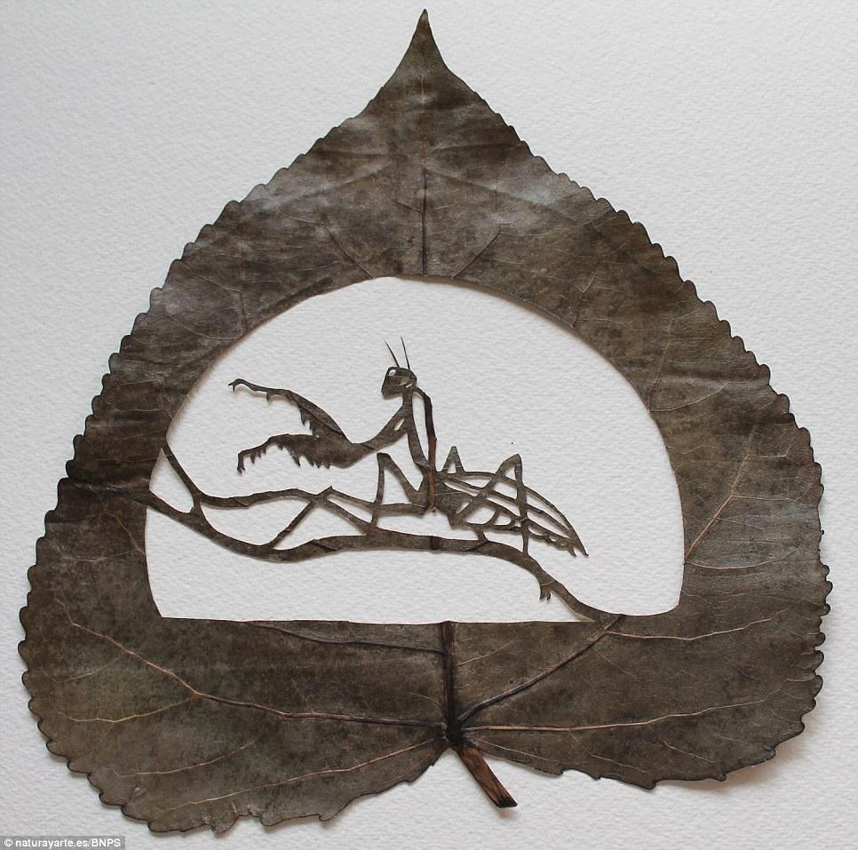 leafart 1 Резьба по листьям