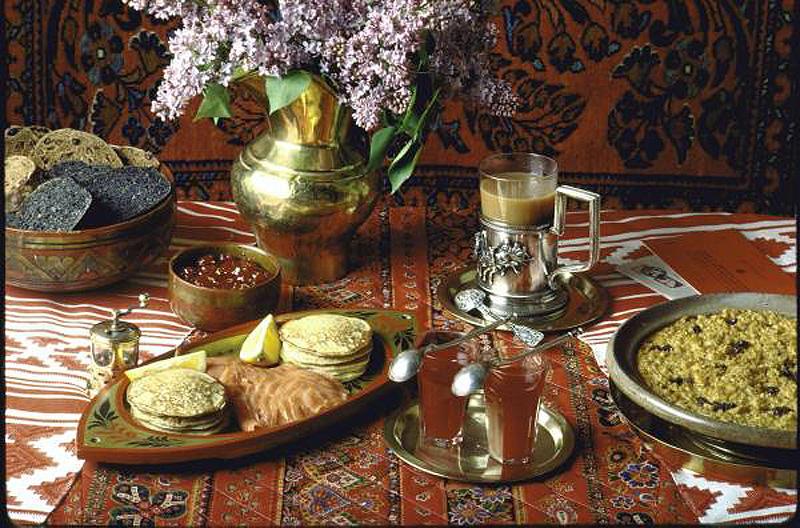 russianfood 1 Традиционные завтраки из разных стран мира по версии LIFE