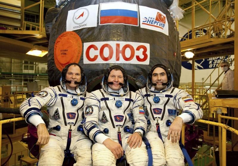 Новый экипаж отправился наМКС