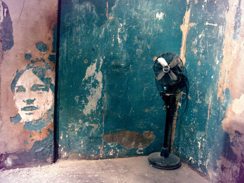 street art portraits 5 Портреты высеченные на стенах