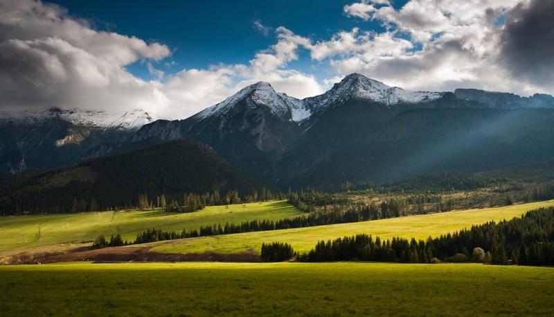 Фотопрогулка по самым высоким горам Польши
