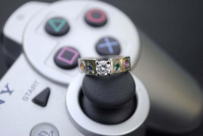 unusualringsforgamers 16 Самые необычные обручальные кольца